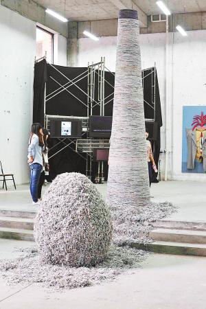 到川美看毕业展,8000件作品任你选(组图)图片