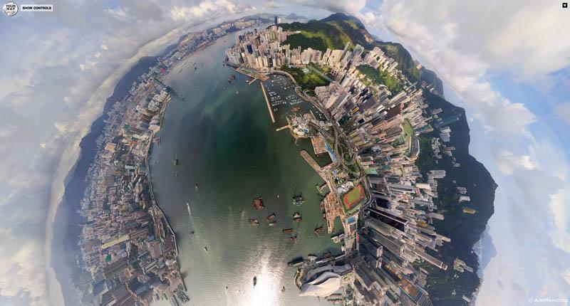 全球十大城市震撼航拍3d全景图
