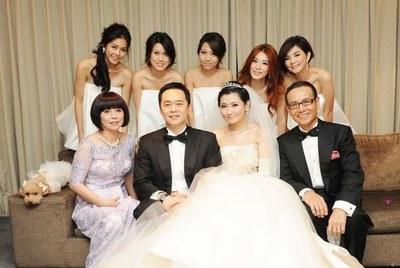 新娘Selina与2011年结婚