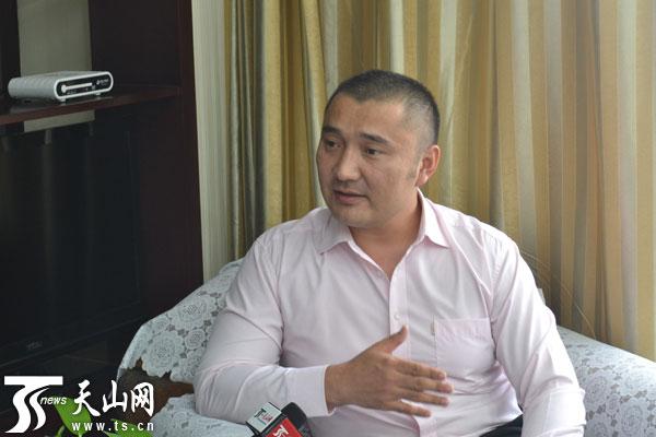 胡斯曼 哈吉台接受天山网记者专访