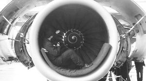 吉林/专业工程师检修发动机涡轮叶片