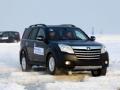 汽车运动:长城哈弗H5硬派越野上演雪中芭蕾