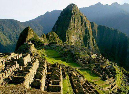 秘鲁的马丘比丘古城