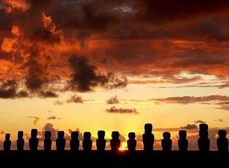 智利的复活节岛