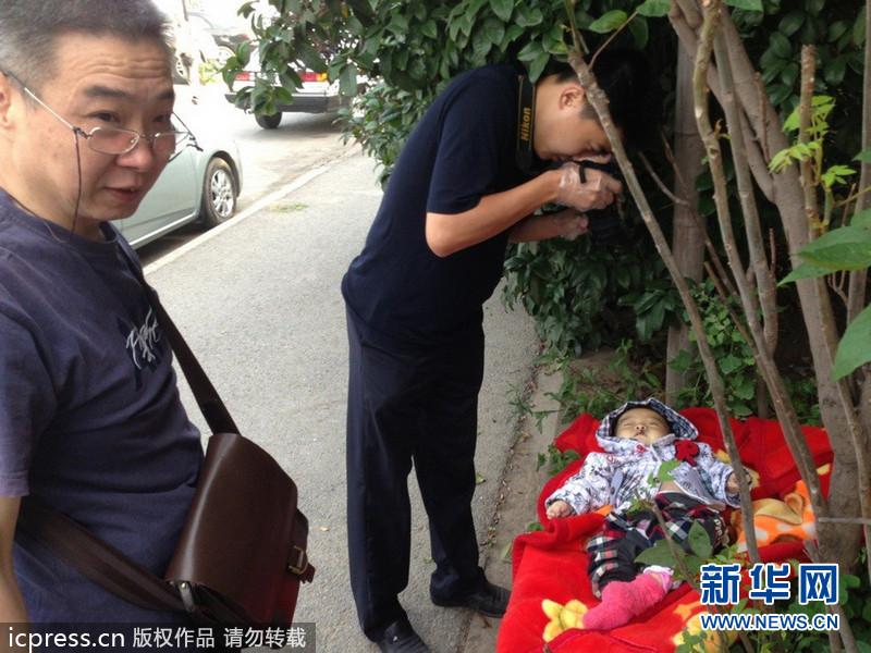 南京城墙下现4个月大弃婴 120赶到后被证死亡