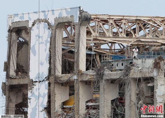 2月20日,东京电力公司在3・11东日本大地震后第二次组织媒体赴福岛第一核电站进行参观采访,了解震后核电站各方面的情况。
