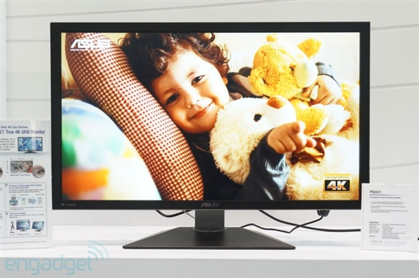华硕首款4k显示器:售价与画质一样震撼图片
