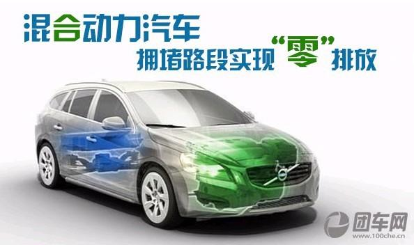 新能源混合动力汽车