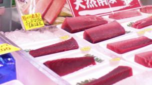 美国科学家说,虽然福岛核泄漏造成太平洋海域金枪鱼体内辐射物浓度增大,但食用这类海产并不对人构成健康威胁。
