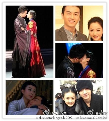 陈晓/《陆贞传奇》陈晓赵丽颖被动夫妇演绎中国版我们结婚了