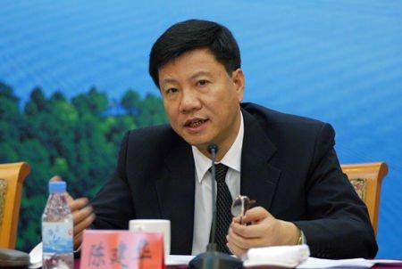 广州市市长陈建华资料图