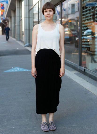 欧美街拍 看微胖美女的时尚宝典