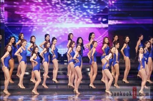2013韩国小姐总决赛落幕 刘艺彬夺冠图片