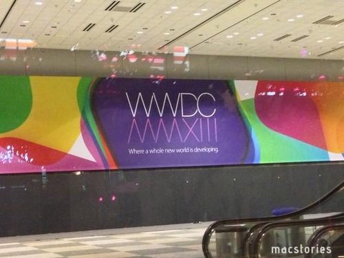 WWDC 2013下周一举行 会场布置接近完毕
