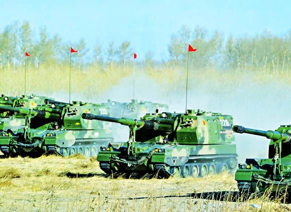原文配图:中国已经在研发自己的火炮装备。