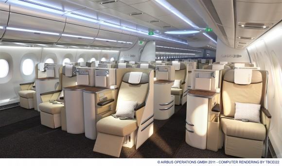 空客A350XWB宽体飞机 节能环保 安全高效