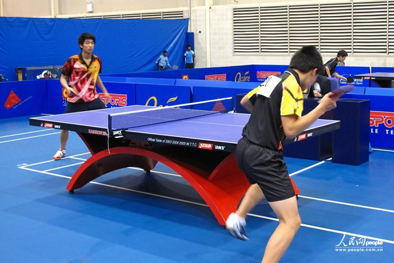 在澳华人企业冠名赞助澳大利亚乒乓球公开赛(