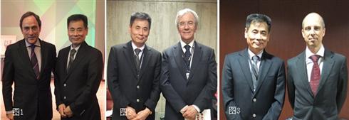 图1:葡萄牙外交部长Paulo Portas与世贸通总裁Winner Xing博士合影
