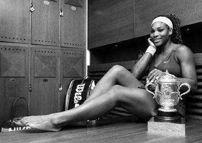 时隔11年,小威廉姆斯再次赢得法网冠军