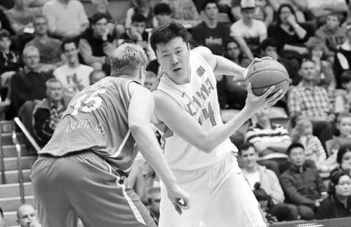 中国男篮不敌澳洲