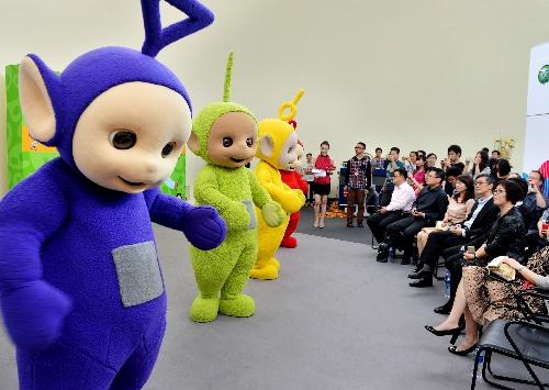 上海/上海,2013年6月11日BBC《天线宝宝》将登陆中国新媒体传播...