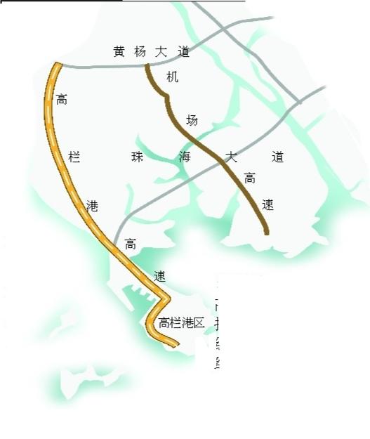 南都讯记者蓝辉龙 记者从市交通集团获悉,高栏港高速公路将在本月底