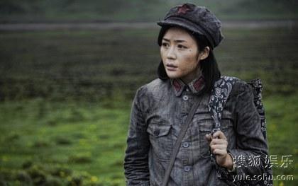 """汤晶媚加盟《十送红军》 被称作""""战争中女神"""""""