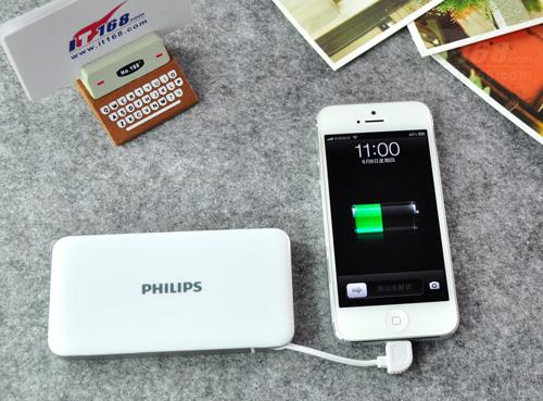 为iphone5充电中