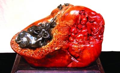 寿山石雕厂图片
