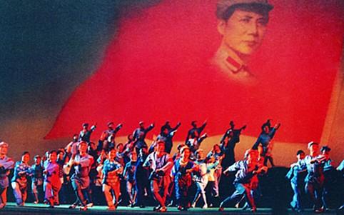 东方红 唱响中国梦 音乐舞蹈史诗登大会堂图片