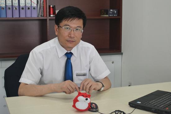 辽宁路鑫销售总监何鸿飞先生