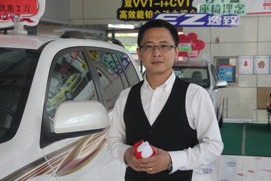 沈阳广通行销售经理冯洪钢先生