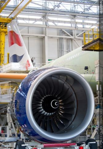 英航的空客A380远程宽体客机