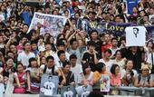 图文:贝克汉姆中国行南京站 球迷们翘首以盼