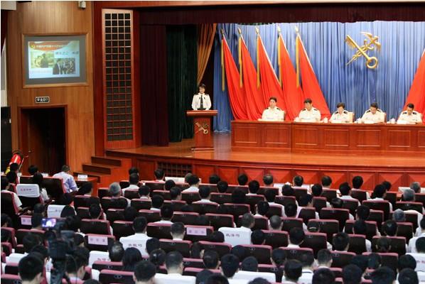 """海关总署党的十八大精神和""""中国梦""""宣讲报告会会场"""