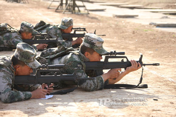 北京射击代表队首次