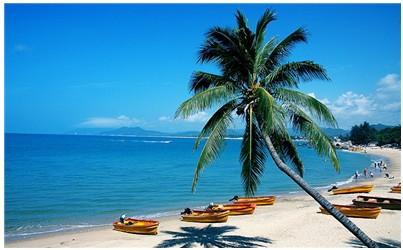 (图2:可以媲美夏威夷的热带风光,让海南成为国内炙手可热的旅游胜地)