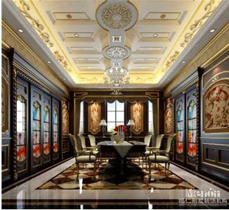 造型相呼应,搭配墙面的花鸟纹饰壁画更为空间增添了图片