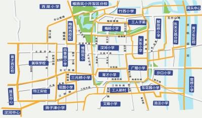 中国江苏高邮市地图