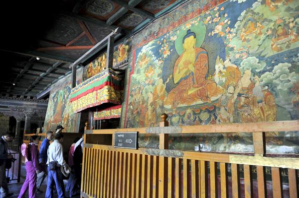 大昭寺管委会首次启动该寺数字壁画工程