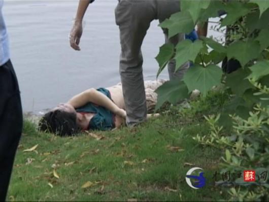 南京阅江楼护城河发现漂浮女尸 死因不详(图)