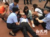 幻灯:小贝访同济大学发生踩踏 万人迷取消活动