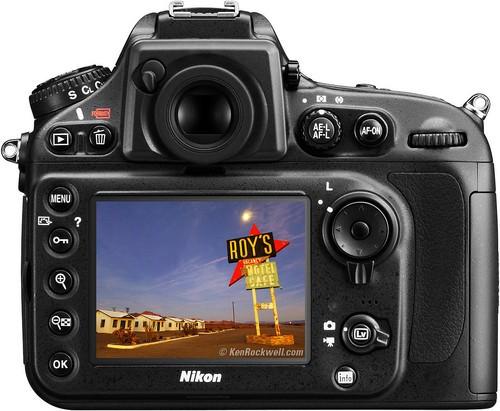尼康D800E数码单反相机-高像素无低通 尼康D800E机身报21359元