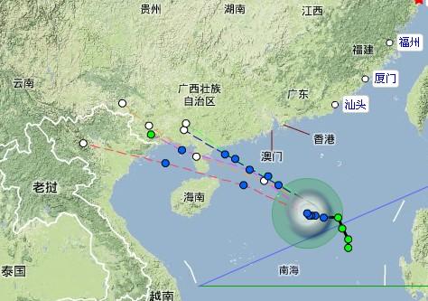中国台风网路径_台风路径图片