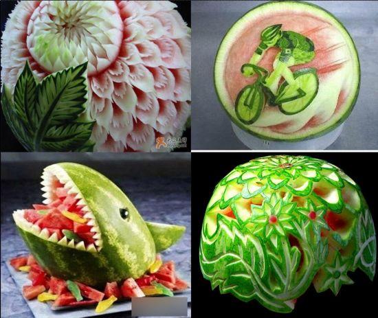 创意雕刻水果之柚子,它是造型最可爱的水果,是最容易创萌系造型的哦!