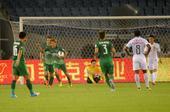 中超图:杭州绿城2-1北京国安 大黑将志庆进球
