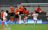 中超图:上海东亚1-0武汉卓尔 球员表情各异
