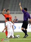 中超图:上海东亚1-0武汉卓尔 赵源煕防守染黄