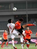 中超图:上海东亚1-0武汉卓尔 朱挺卖力争顶