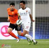 中超图:上海东亚1-0武汉卓尔 朱峥嵘突破梅方